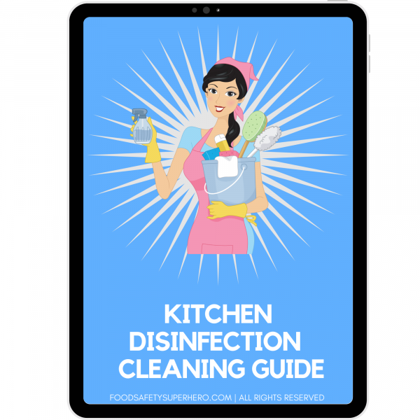 kitchen disinfection guide