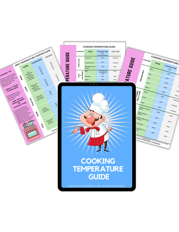 food cooking temperature guide