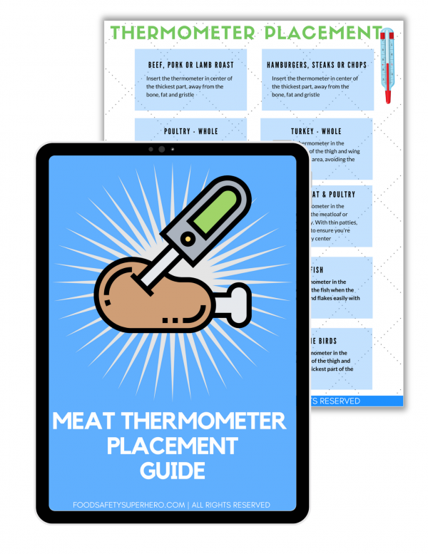 thermometer placement guide
